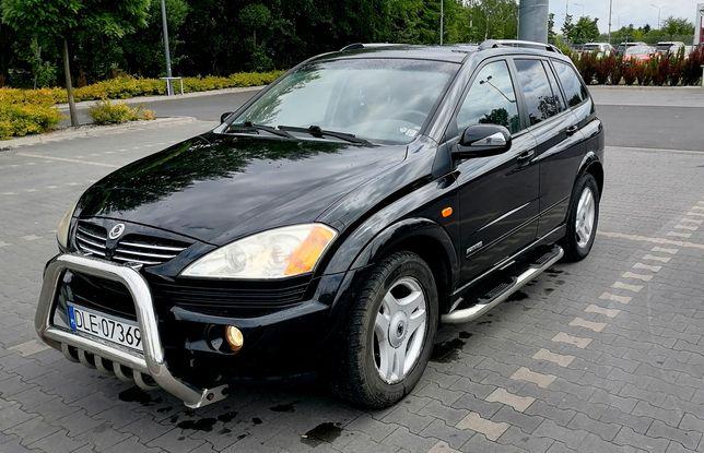 SsangYong Kyron 2.0 Diesel Automat 235 tys 4x4 Zadbany Zarejestrowany