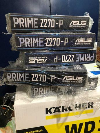 Материнская плата Asus Prime Z270-P на 8 видеокарт для RTX3070\5700xt