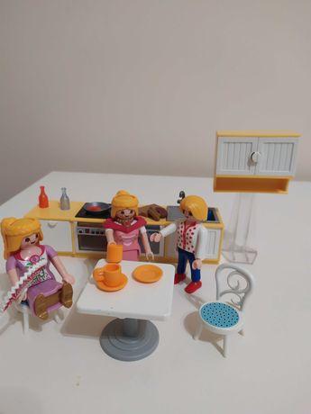Playmobil mebelki kuchenne 3 figurki + gratis