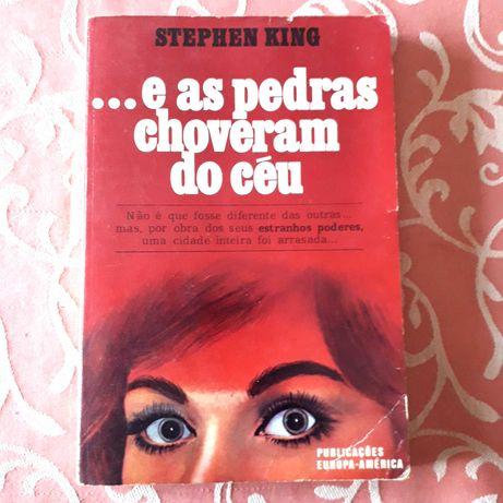 Stephen King - Carrie...e as pedras choveram do céu   1.ª Edição 1975