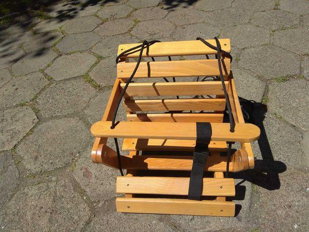 Huśtawka drewniana dla dzieci