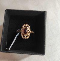 złoty pierścionek -koszyczek- lombard madej sc