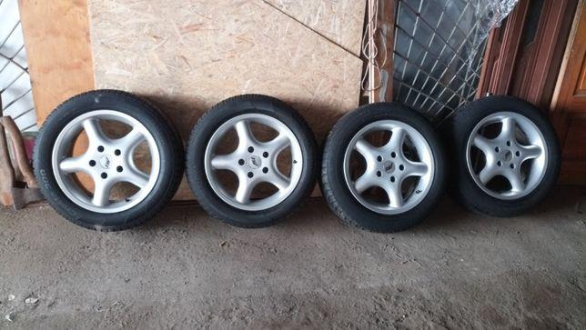 Продам диски литье 5/120/16 с шинами 205/55/16 БМВ, Трафик, Виваро