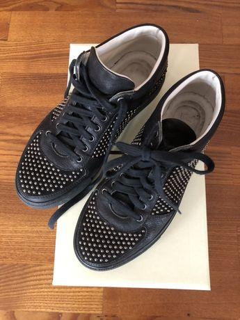Całe skórzane sneakersy MEKA 36-37sklep 900zł