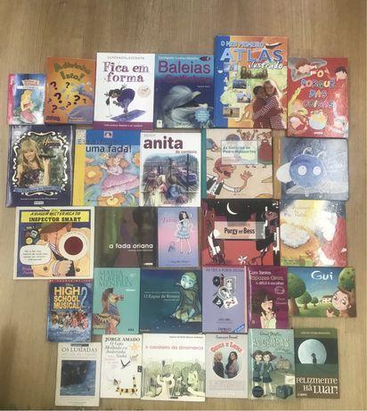 Livros infantis/adolescencia sophia de mello breyner ler+ entre outros