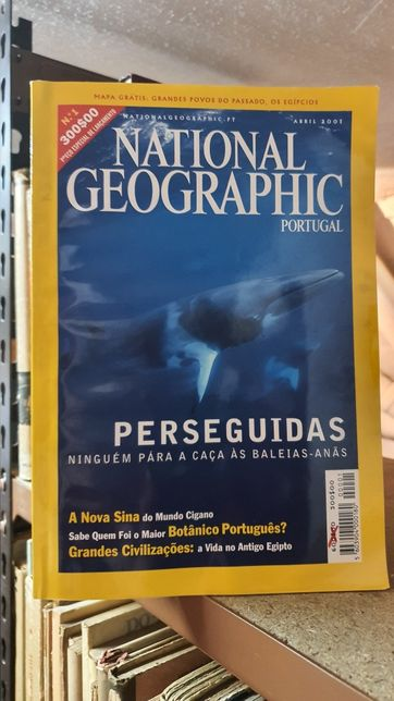Primeiros oito volumes National Geographic Portugal