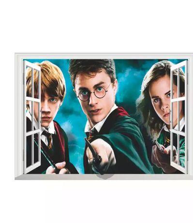 3Д Виниловые наклейки Гарри Поттер 70х50 см