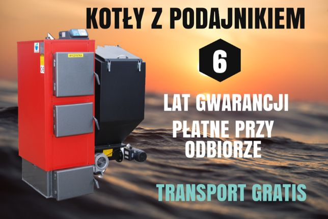320 m2 PIECE 38 kW na Ekogroszek Kotły z PODAJNIKIEM Kocioł 33 35 36