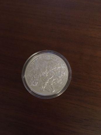 Moneta srebrna 10 zl 450 lat Poczty Polskiej
