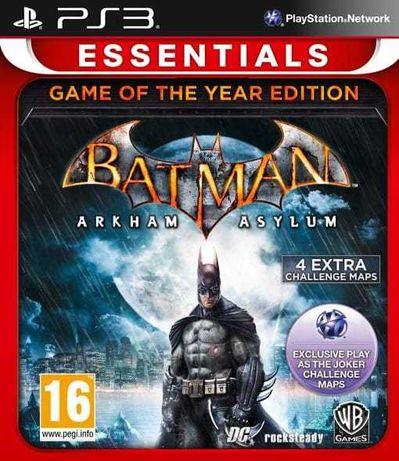 Batman Arkham Asylum GOTY PS3 Unikat Sklep Wysyłka Odbiór