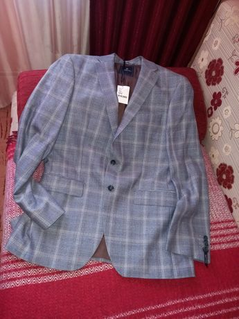 Новый пиджак Barutti,шерсть,лён,50 р