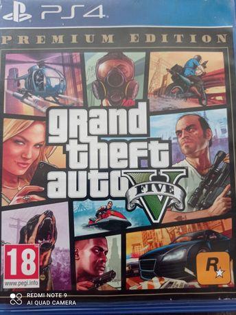 Sprzedam płytę GTA5 na konsolę PS4