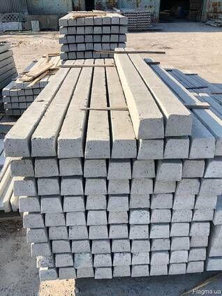стовп бетонний різних розмірів