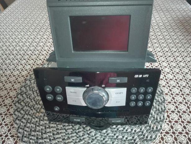 Radio CD30 MP3 Opel Corsa D z dużym wyświetlaczem ekranem