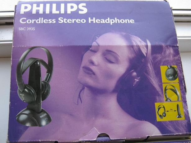 Беспроводные наушники Philips+наушники