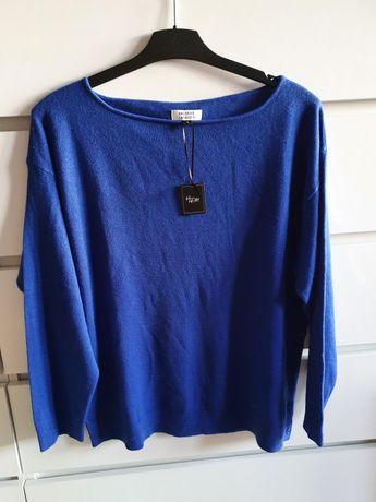 Cienki sweterek L bluzeczka na długi rękaw
