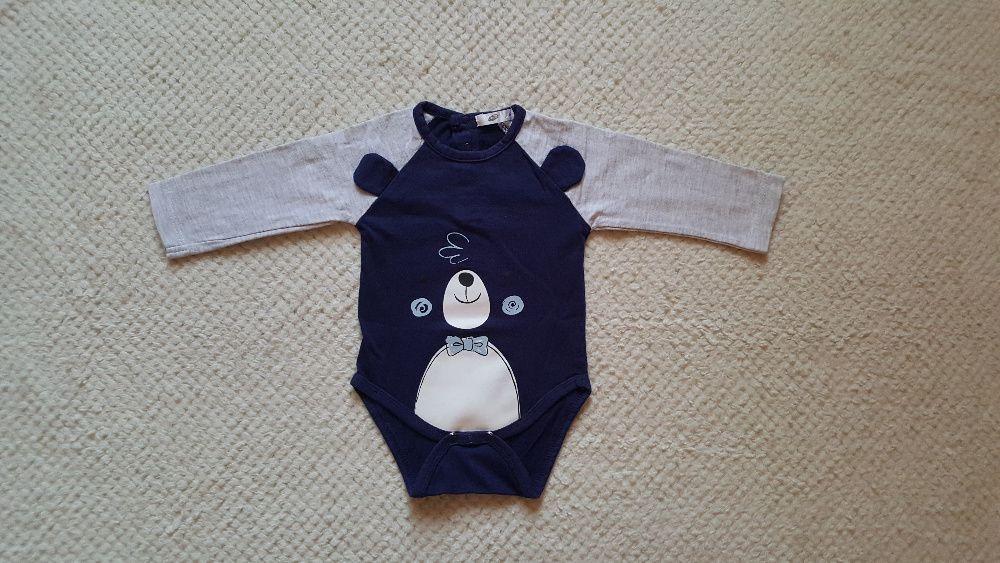 Body niemowlęce z długim rękawem Pepco, rozmiar 68 Bydgoszcz - image 1