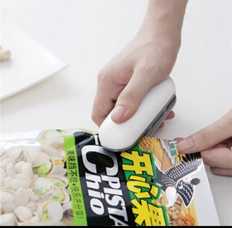 Mini zgrzewarka klips do zamykania woreczków opakowań