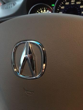 Эмблема. Значок на руль Acura.MDX.Акура.Решетка.Багажник.Значек