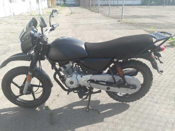Мотоцикл BAJAJ BOXER 150Х тюнинг под кросс-эндуро