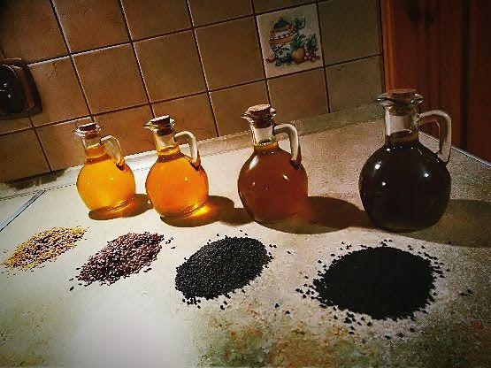 Olej tłoczony na zimno! - rzepakowy,lniany, z czarnuszki i inne!!!