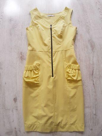 Żółta sukineka, rozmiar M