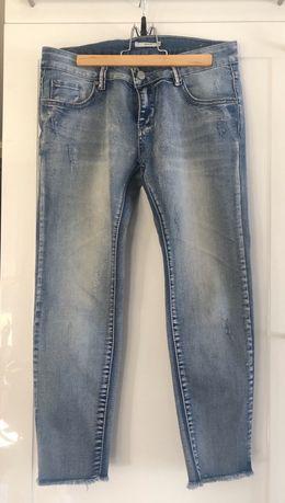 Spodnie jeansowe 7/8 rozm. S/M