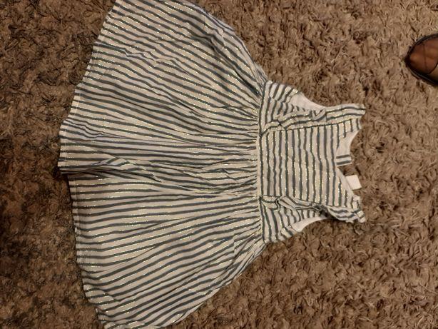 Śliczna sukienka H&M 86