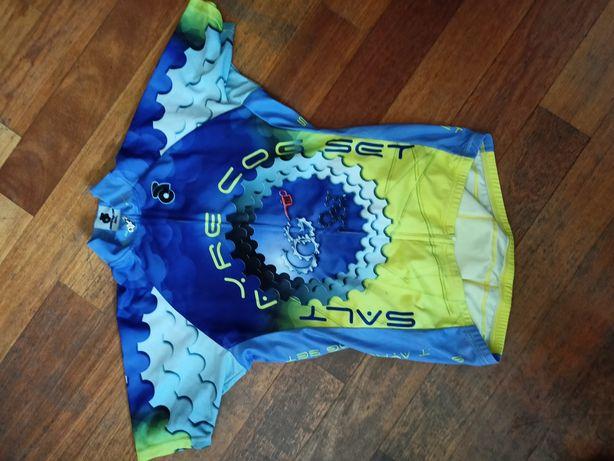 Koszulka rowerowa techniczna kolarska rozmiar S