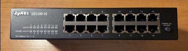 Switch Zyxel 16 portów GS1100-16 CENA OSTATECZNA