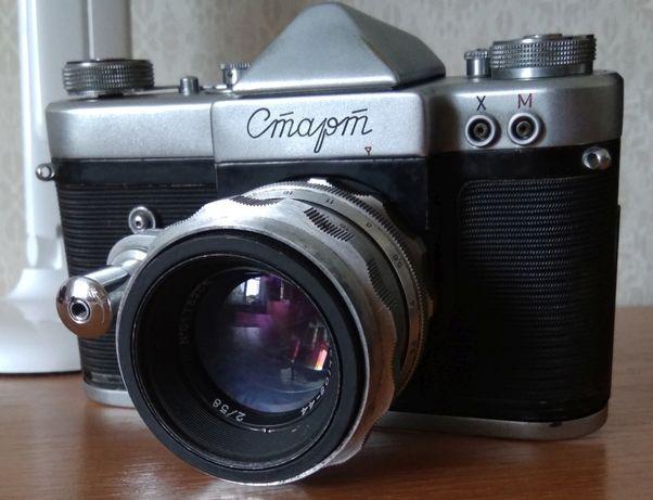 В коллекцию фотокамера Старт с объективом Гелиос 44