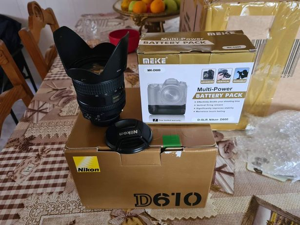 Nikon D610 FX - Full Frame + Grip Vertical