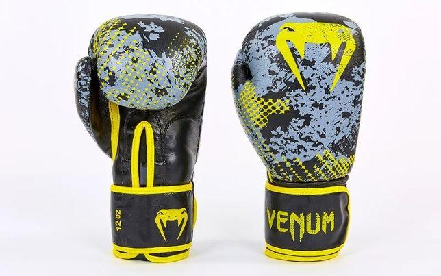 Боксерские перчатки Venum кожа