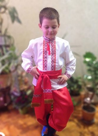 Шаровары украинские для мальчика