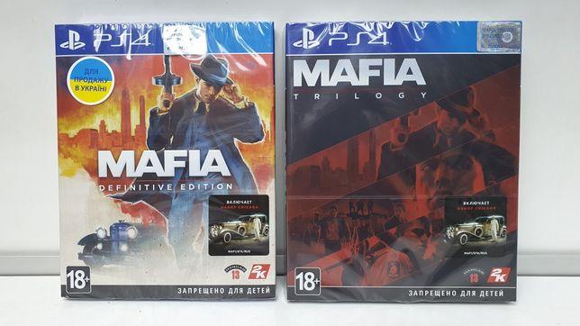 Игра Mafia Definitive Edition и Mafia Trilogy для Sony PS4 на русском