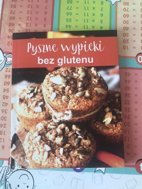 Zestaw książek 7 kulinarnych surówki smoothie wypieki bez glutenu