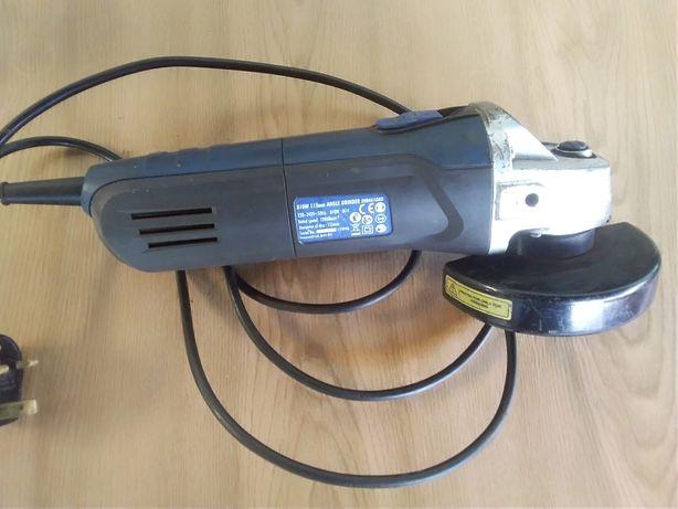 Szlifierka kątowa Energer 810 W, uszkodzona