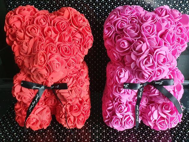 Miś śliczny prezent dla ukochanej zamiast kwiatów dzień matki