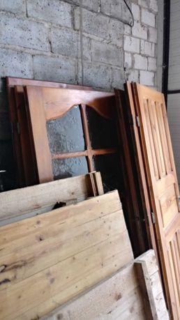 Drzwi drewniane po remoncie!