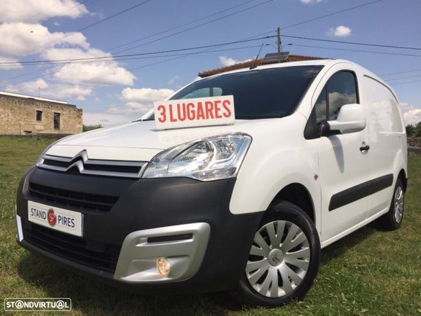 Citroën Berlingo 1.6 HDI 3 Lugares  , 100 CV com GPS