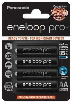 Akumulatorki AA / R6 Panasonic Eneloop PRO 2500mAh