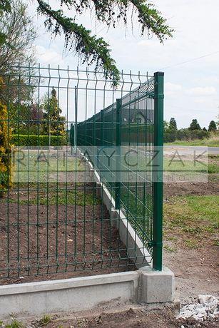 Podmurówka systemowa podmurówka do paneli betonowa cokół ogrodzenie