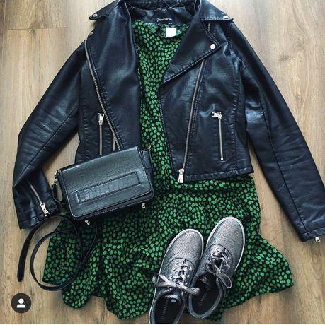 Zielona sukienka H&M - M/38