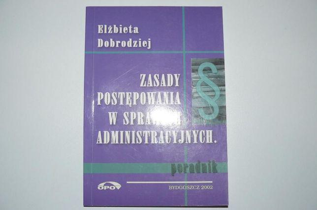 Zasady postępowania w sprawach administarcyjnych