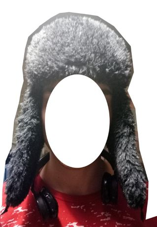 шапка- ушанка, шапка зимняя на парня
