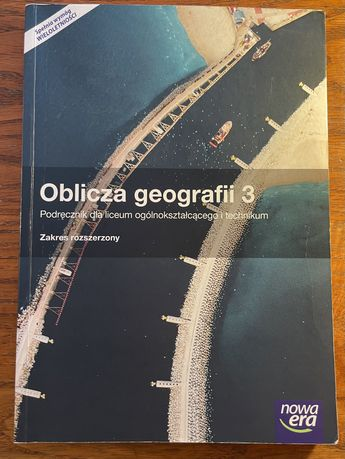 Oblicza Geografii 3 podręcznik + maturalne karty pracy