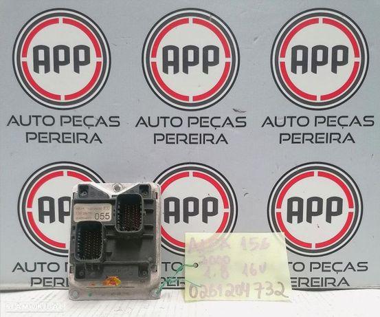 Centralina motor Alfa Romeu 156 1.8 16V referência 0261204732.