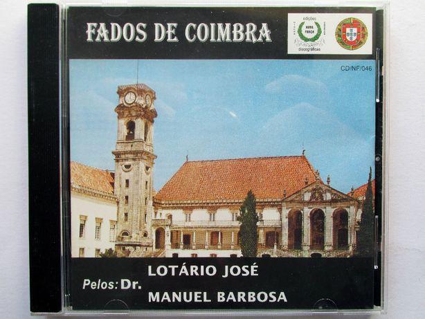 CD - Raridade, Fados de Coimbra com Drs. Lotário José e Manuel Barbosa