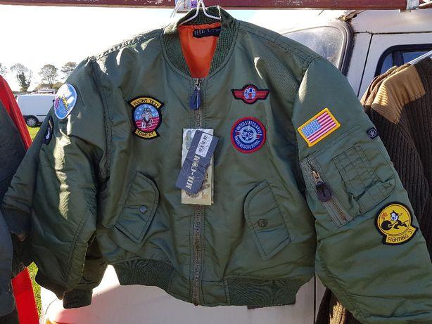kurtka TOP GUN OSTATNIE SZTUKI dla dziecka Flight Jacket