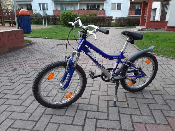 Rower Biria dla chłopca 5-7 lat koła 20 cali niebieski rama alu